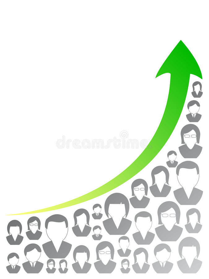 De grafiek van mensen vector illustratie