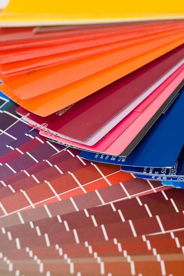 De grafieken van de kleur stock fotografie