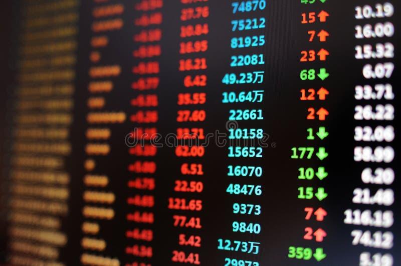 De grafieken van de voorraad royalty-vrije stock afbeelding