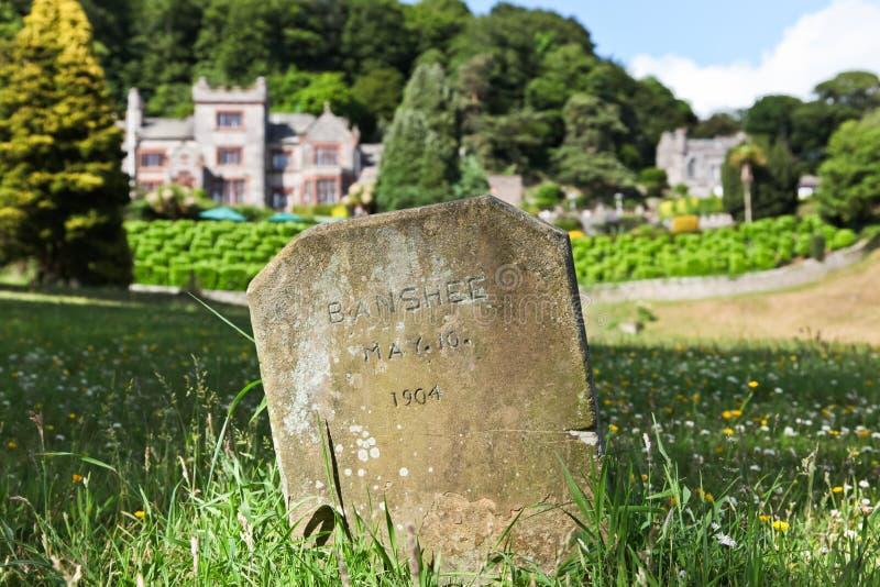 De Grafsteen van Banshee royalty-vrije stock foto