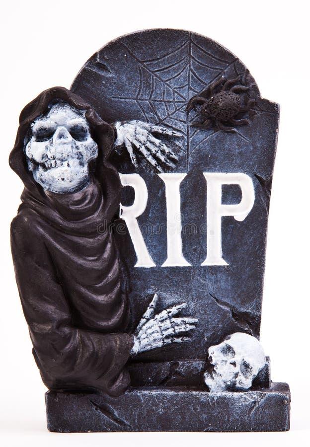 De Grafsteen van Halloween stock foto
