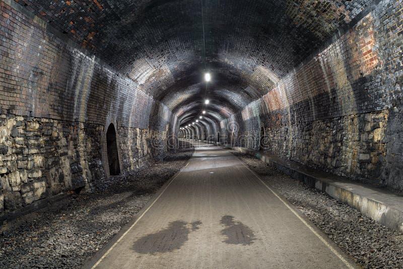 De Grafsteentunnel in Derbshire stock fotografie