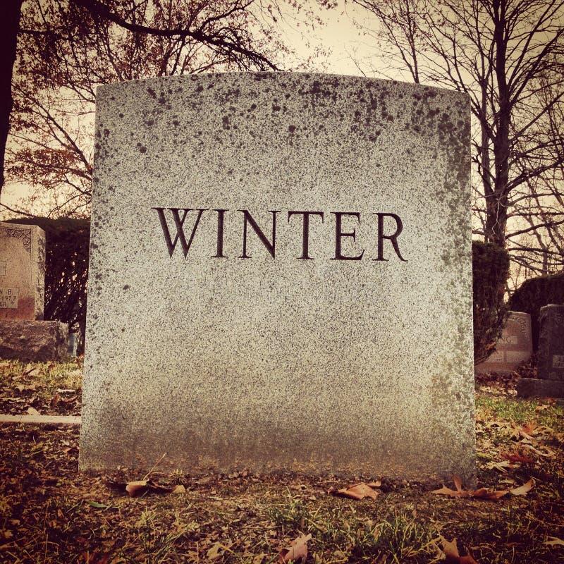 Download De Grafzerk van de winter stock foto. Afbeelding bestaande uit dood - 29513676