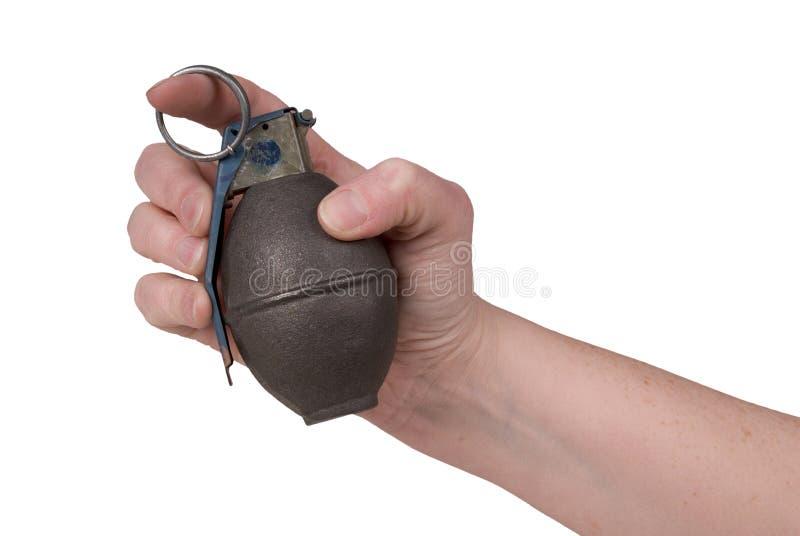 De granaat van de hand royalty-vrije stock fotografie