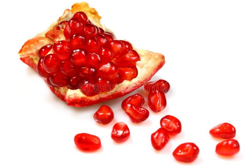 De granaat van het fruit stock afbeeldingen