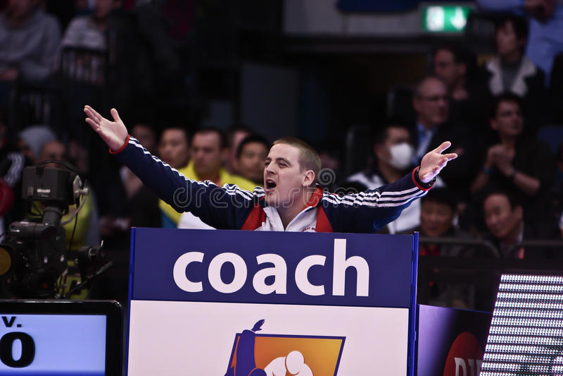 De Grand Prix 2012 Düsseldorf Duitsland van het judo royalty-vrije stock afbeeldingen