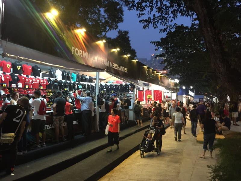 De Grand Prix F1 2015 van Singapore royalty-vrije stock fotografie