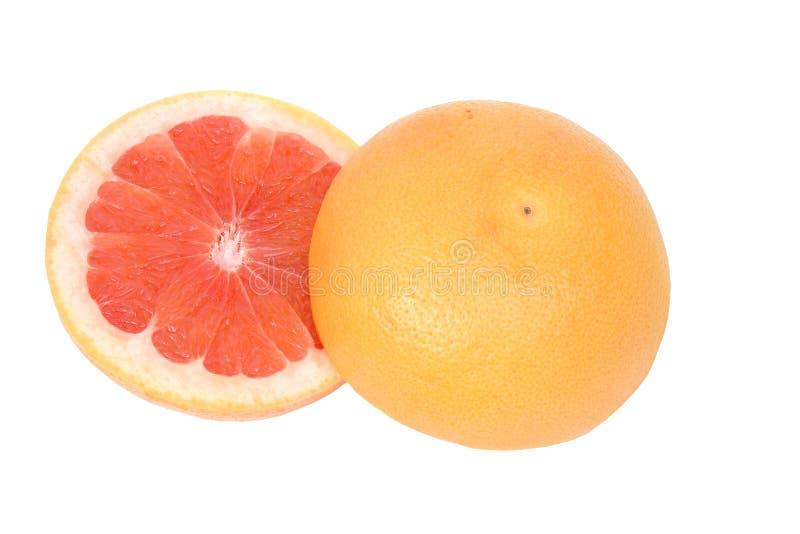 De grapefruit van de helften stock foto