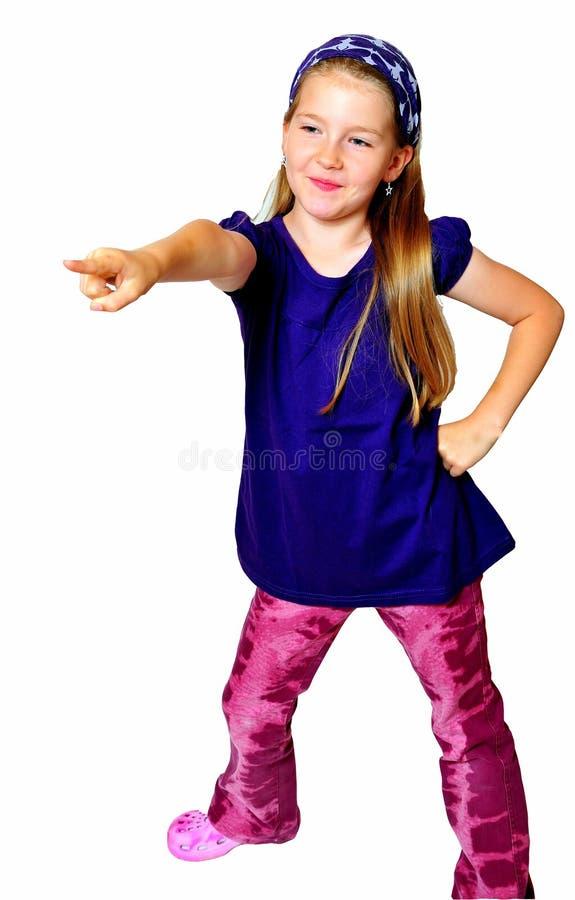 De grappige dans van het Kind stock fotografie