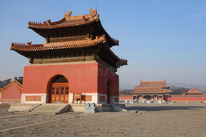 De graven Ming stock foto