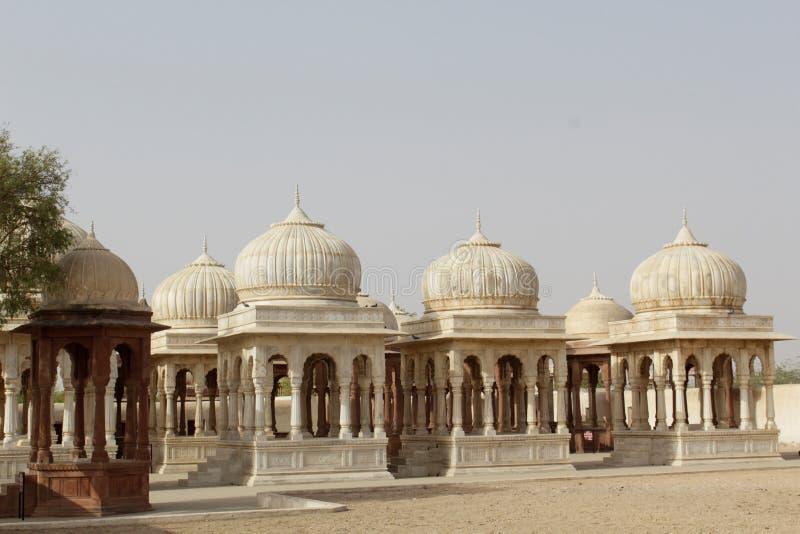 De graven van Indische koningen stock foto