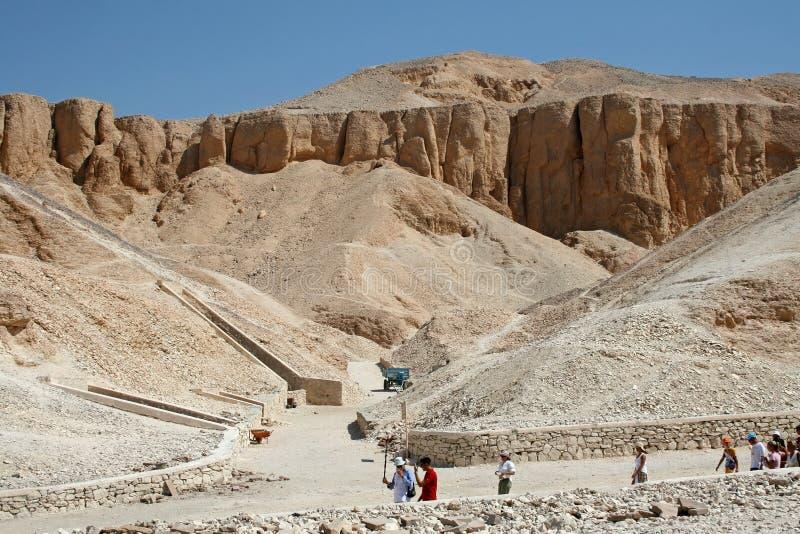 De graven van Pharaoh stock foto
