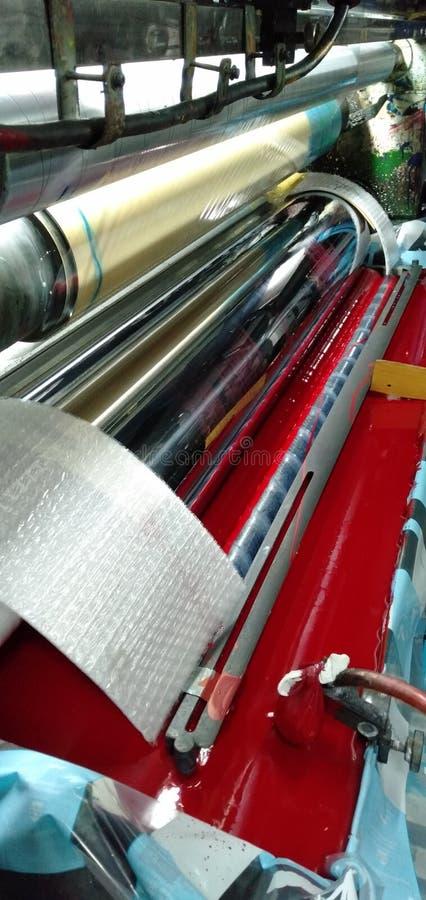 De gravurevorm wordt dit gemaakt van cilindrisch staal royalty-vrije stock afbeelding