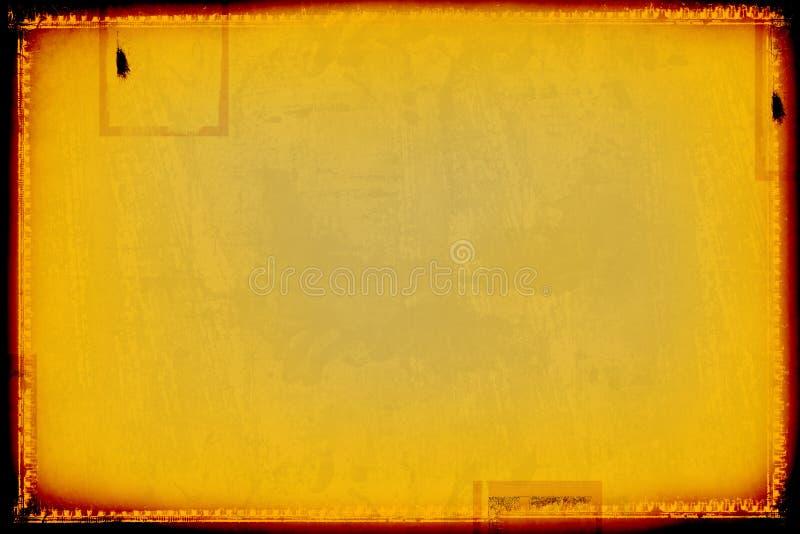 De grens en de achtergrond van Grunge vector illustratie