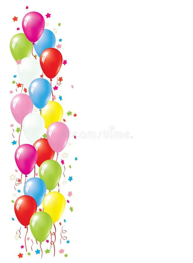 De Grens van de ballon vector illustratie