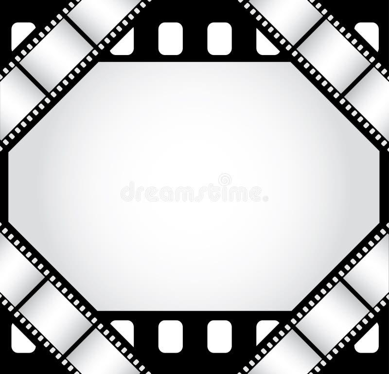 De grens van de film stock illustratie