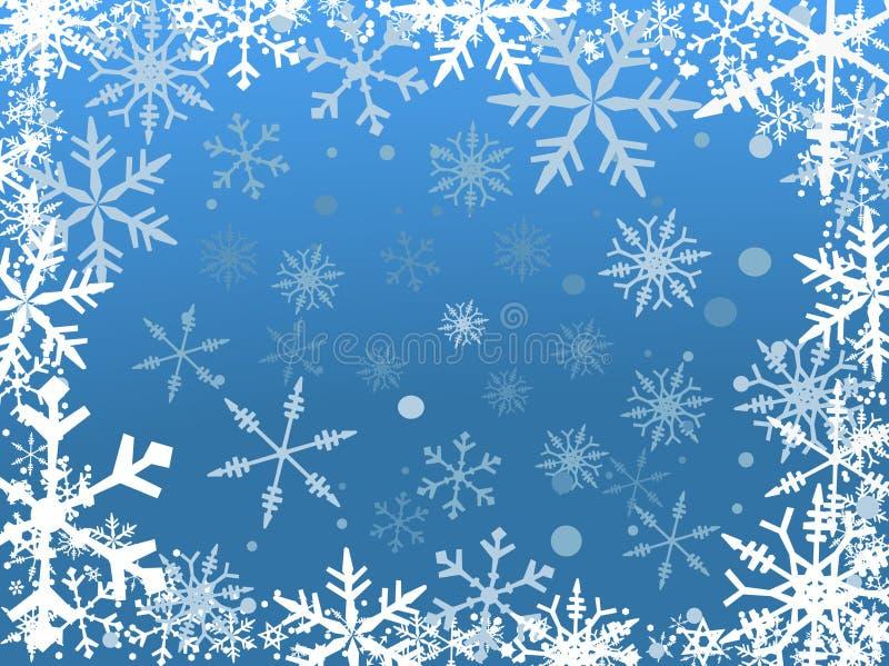 De Grens van de sneeuw vector illustratie
