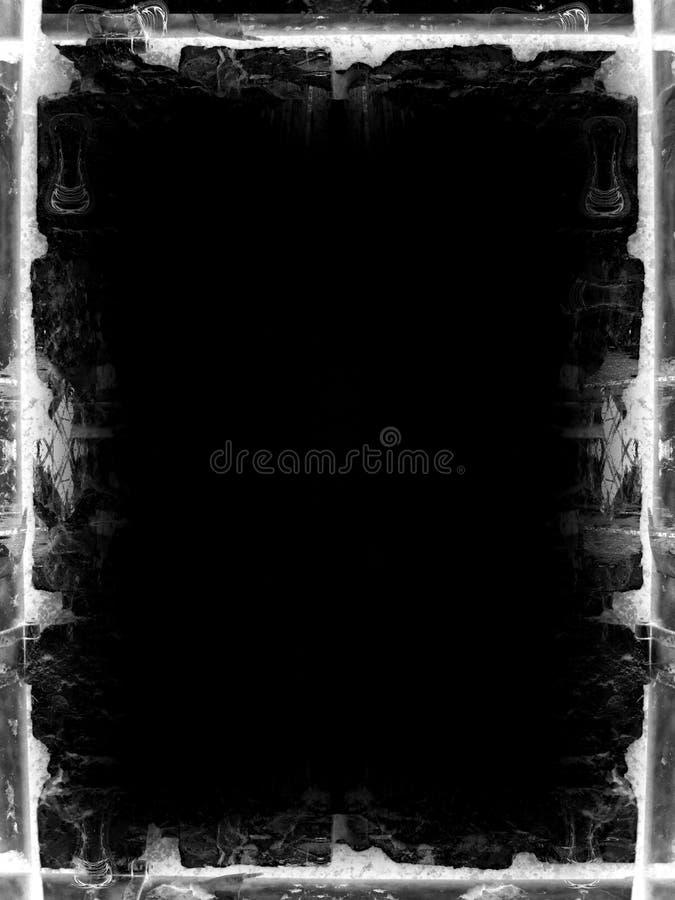 De grens van Grunge vector illustratie