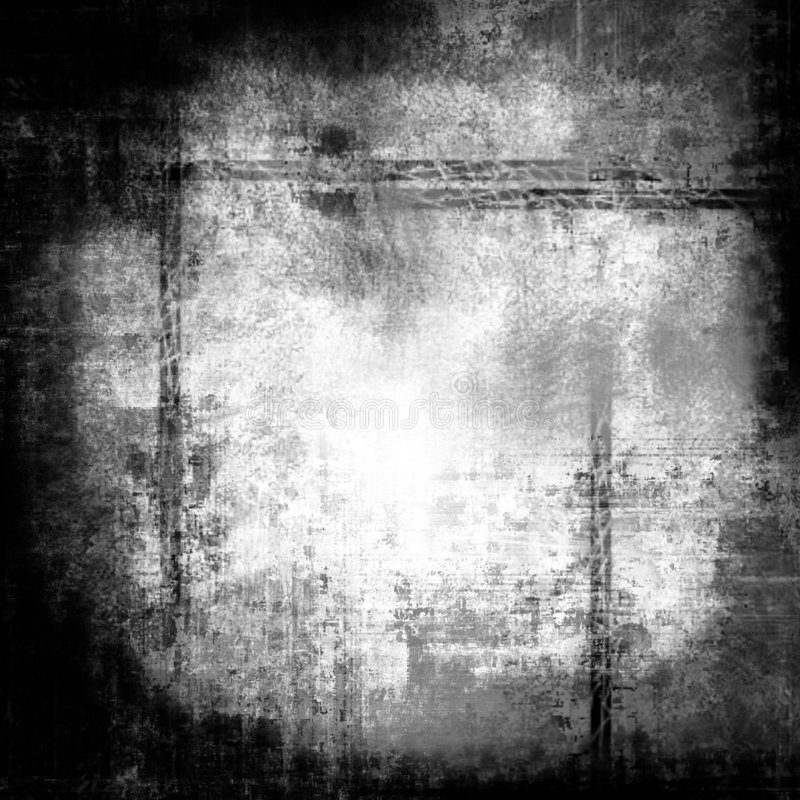 De grens van Grunge, die hoogst, met ruimte voor het schrijven wordt gedetailleerd vector illustratie