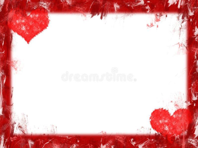 De grens van harten vector illustratie