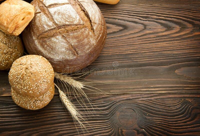 De grens van het brood stock afbeeldingen