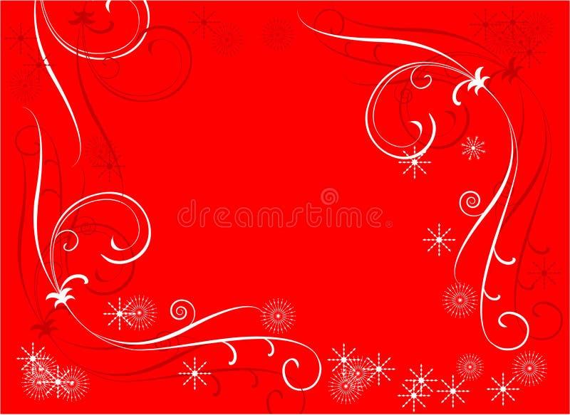 De grens van het ornament vector illustratie