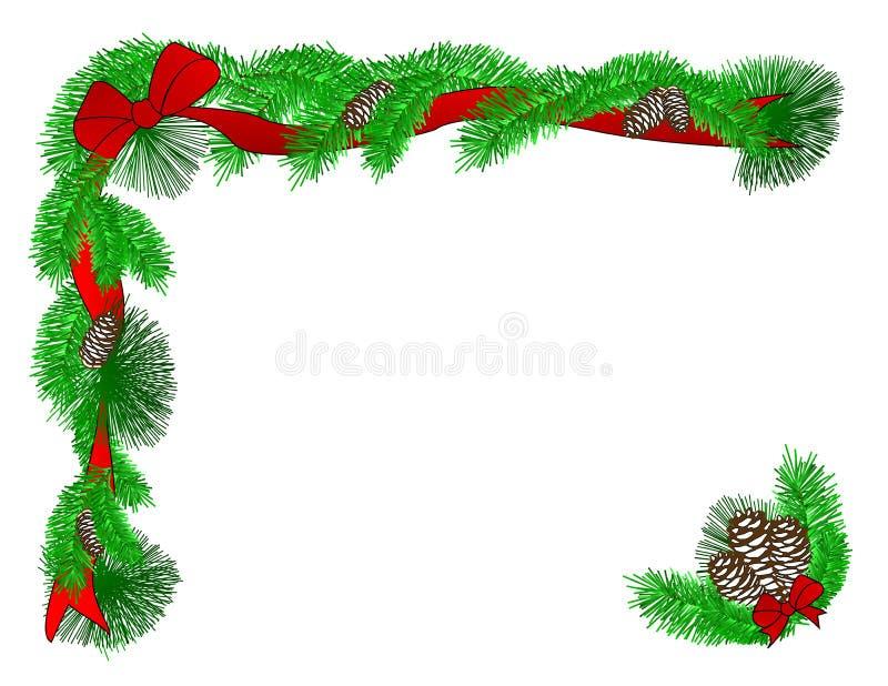De Grens van Kerstmis vector illustratie