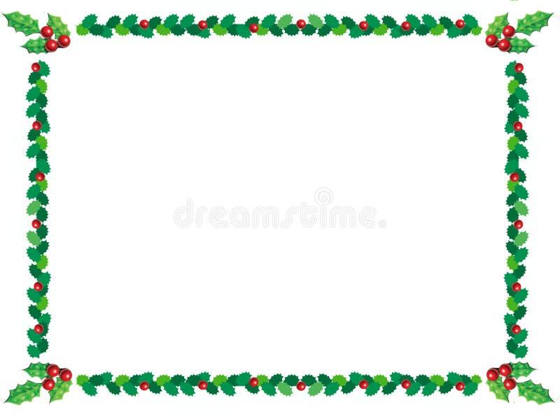 De grens van Kerstmis stock illustratie