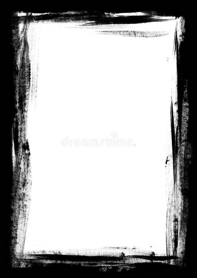 De grens van Verf stookt op vector illustratie