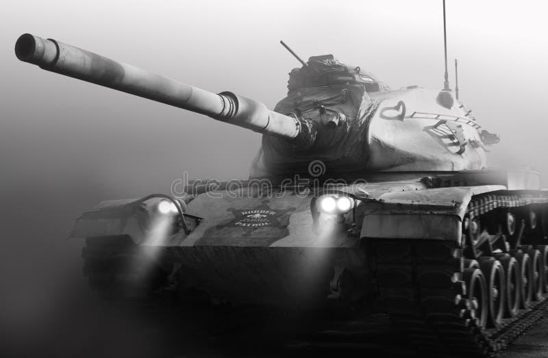 De grenspatrouille breekt Groot Kanon uit royalty-vrije stock foto's