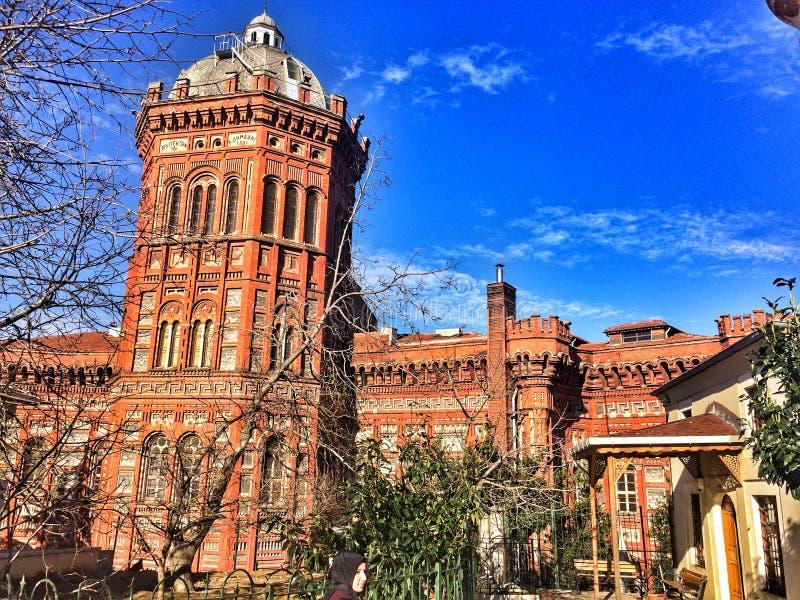 De Griekse Orthodoxe Universiteit van Phanar royalty-vrije stock foto