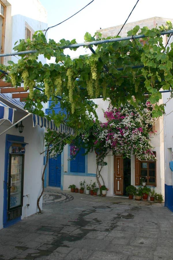 De Griekse Scène van Eilanden stock foto's
