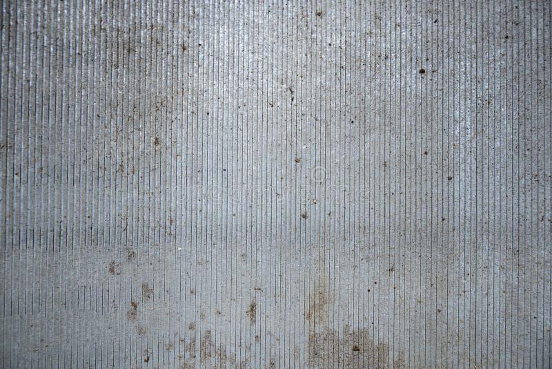 De grijze achtergrond van het bladmetaal royalty-vrije stock foto