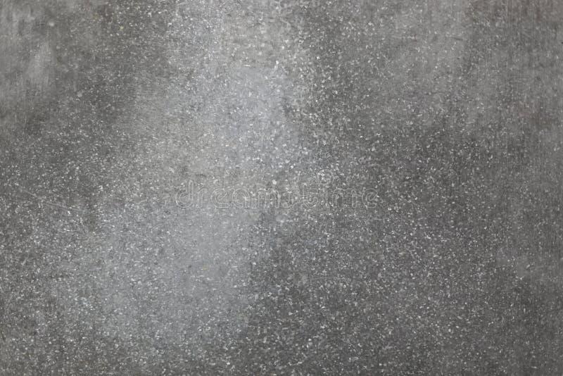 De grijze achtergrond van de metaaltextuur Abstracte metaaltextuur stock afbeelding