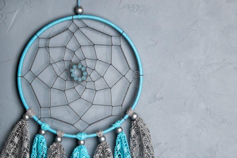 De grijze blauwe vanger van de kantdroom stock afbeeldingen