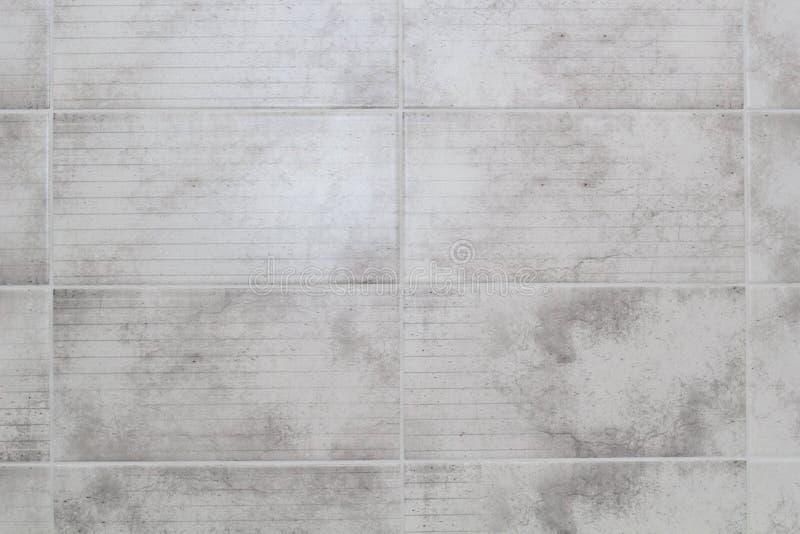De grijze tegels in de keuken sluiten omhoog royalty-vrije stock afbeelding
