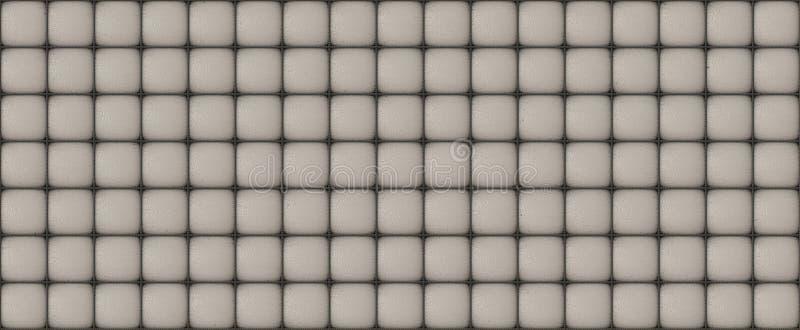 De grijze textuur van de bankhuid vector illustratie