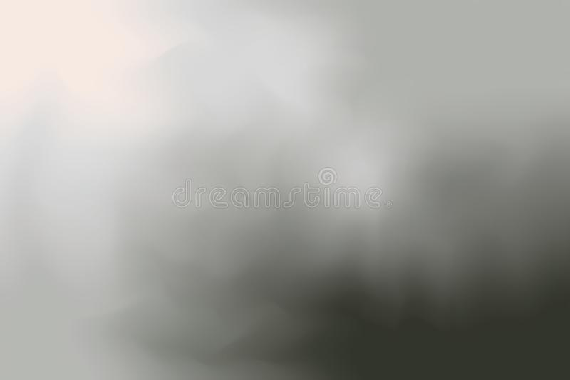 De grijze zwarte zachte kleur mengde abstract, kleurrijk de kunstbehang van de achtergrond het schilderen kunstpastelkleur stock afbeelding