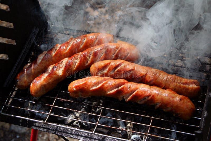 De grill van de barbecue royalty-vrije stock foto's