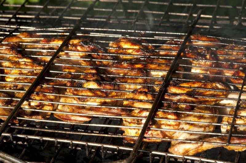 De grill van de kip royalty-vrije stock fotografie