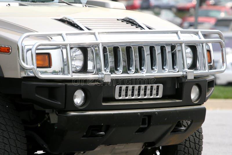 SUV-Grill stock fotografie
