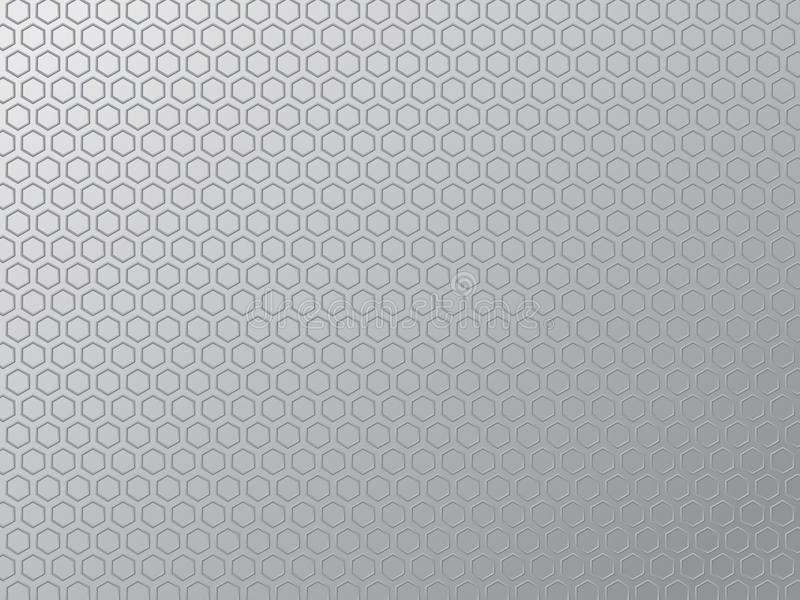 De grilltextuur van het metaal vector illustratie