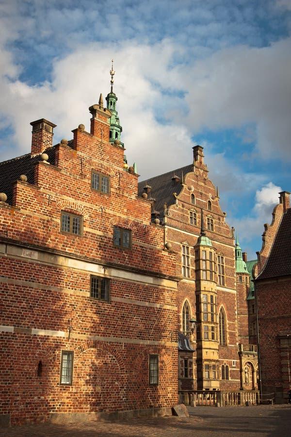 De groef van Frederiksborg royalty-vrije stock foto
