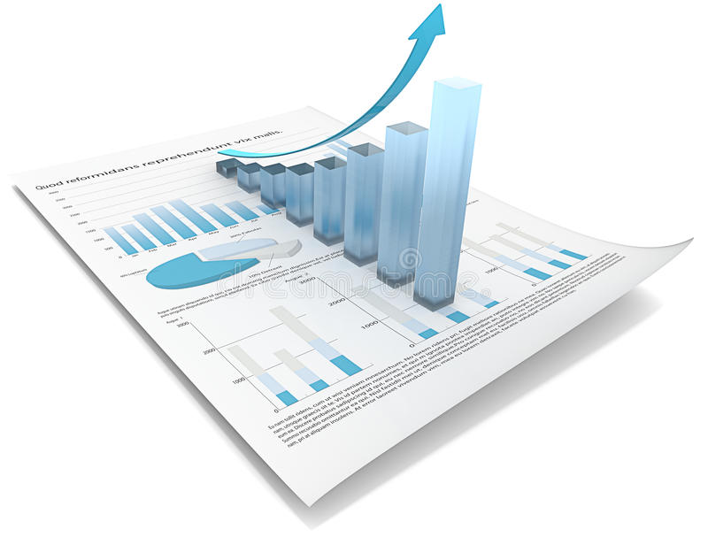 De groei. stock illustratie