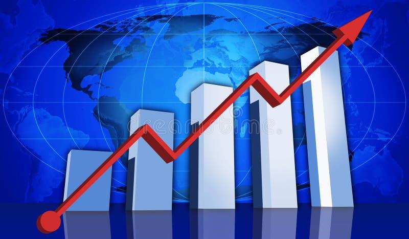 De groei royalty-vrije illustratie