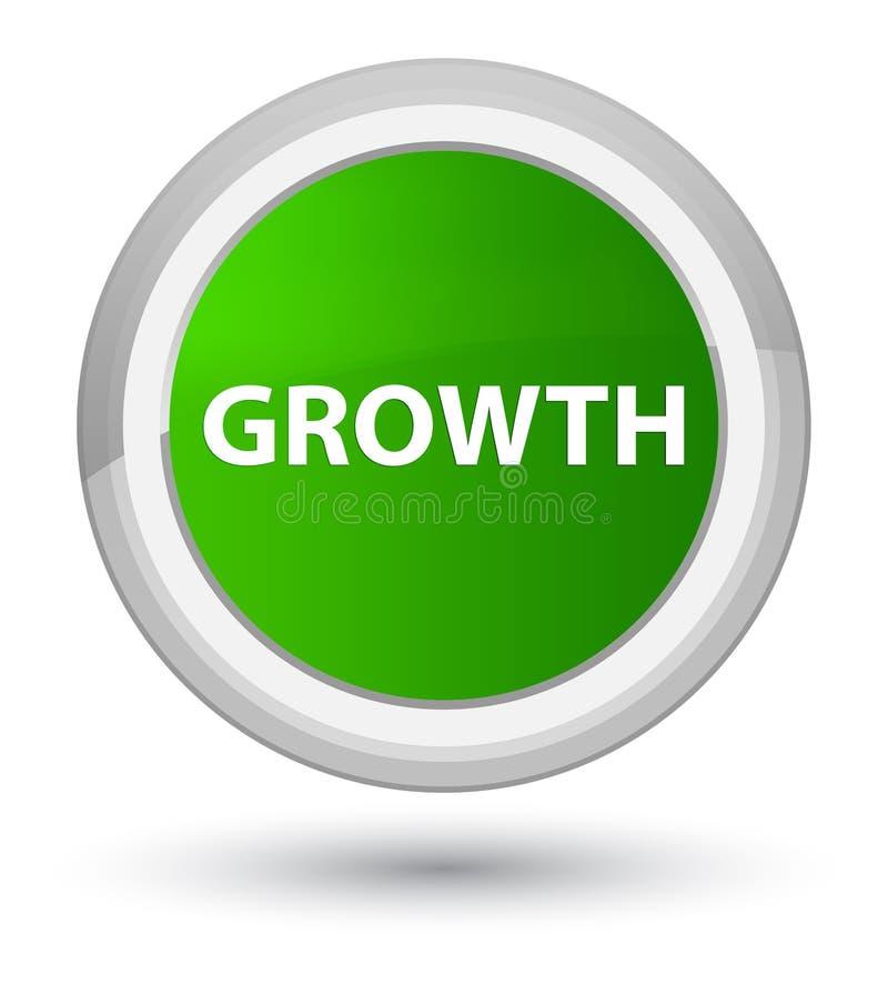 De groei eerste groene ronde knoop stock illustratie