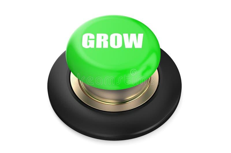 De groei Groene knoop royalty-vrije illustratie
