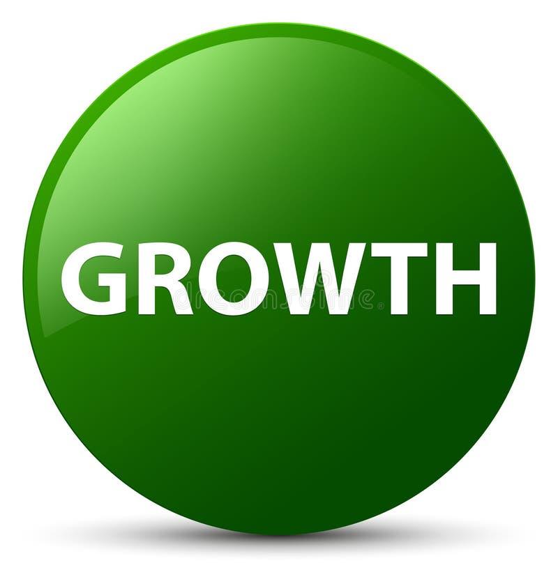 De groei groene ronde knoop vector illustratie