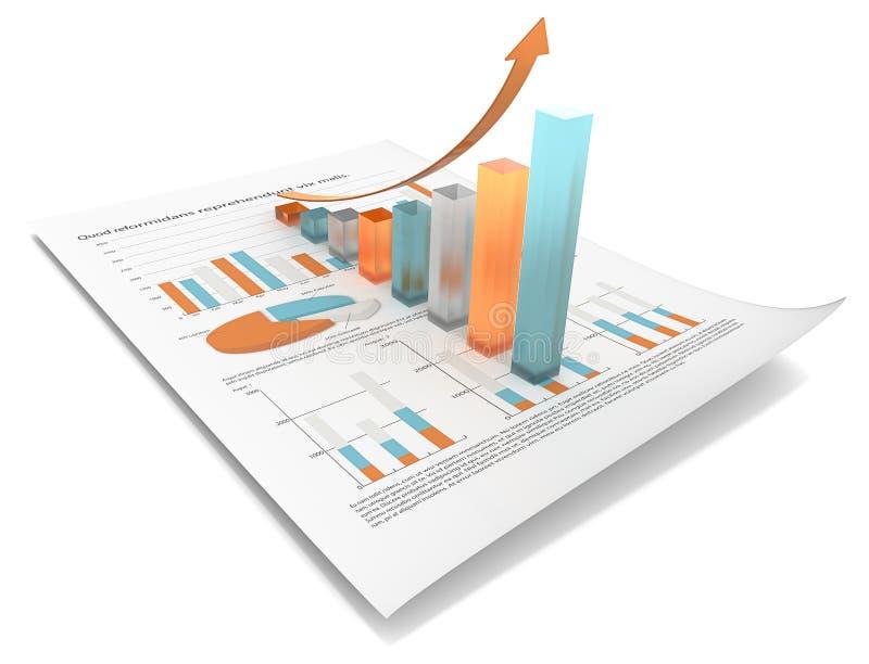 De groei Multikleurenuitgave stock illustratie