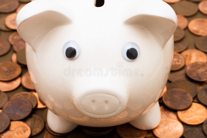 De Groei van besparingen royalty-vrije stock afbeelding